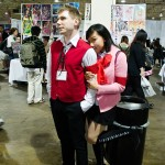 Yukari Takeba and Akihiko Sanada